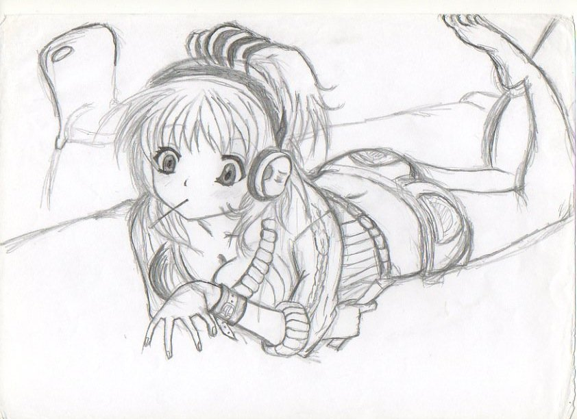 dessin manga fille difficile